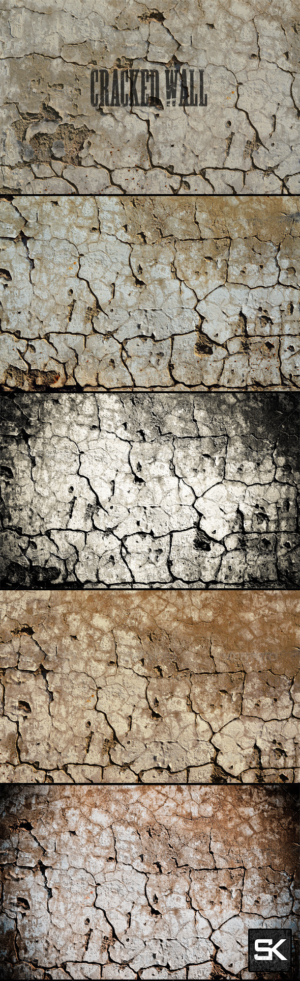 GraphicRiver Cracked Wall 8258459