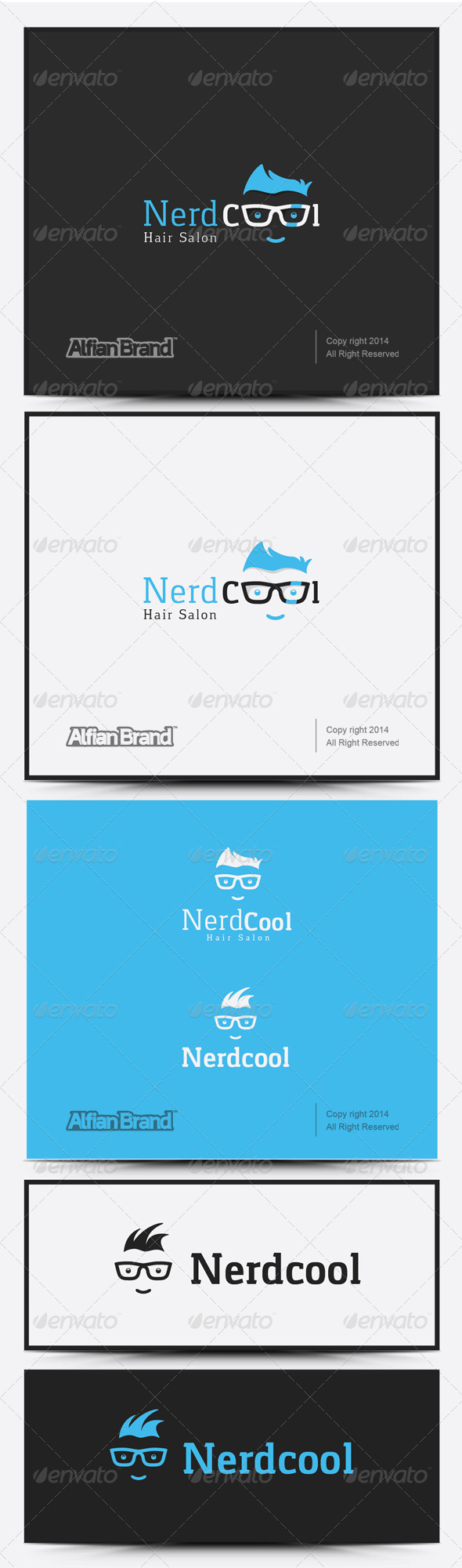 GraphicRiver Nerd Cool Logo 8258479