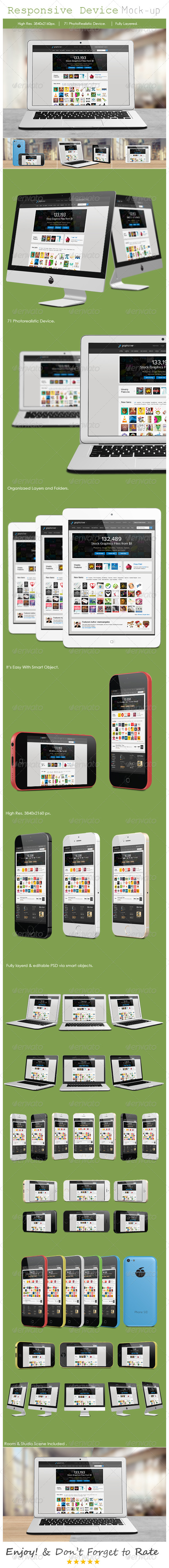GraphicRiver Responsive Screen Mockup Devices 8252298