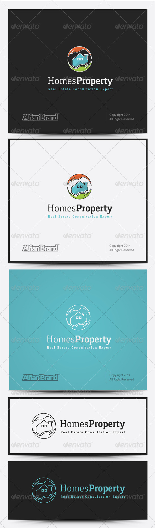 GraphicRiver Homes Property Logo 8258585