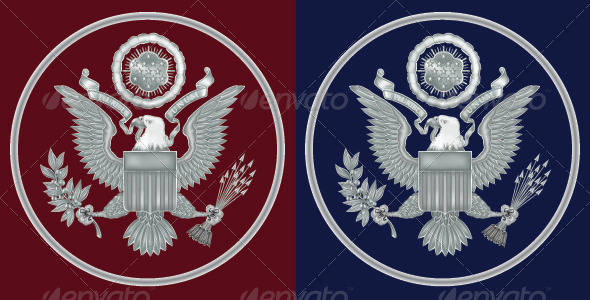 GraphicRiver Great Seal of the United States 8258794