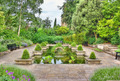 Idyllic garden with pond - PhotoDune Item for Sale