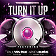 Turn It Up Party Flyer - GraphicRiver Item for Sale