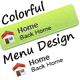 Colorful Noise Menu - GraphicRiver Item for Sale