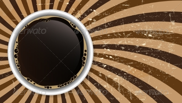 GraphicRiver Abstract Coffee Background Vector Illustration 8259572