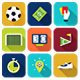 87 Animated Soccer Icons - VideoHive Item for Sale