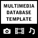 Multimedia Database Template - ActiveDen Item for Sale