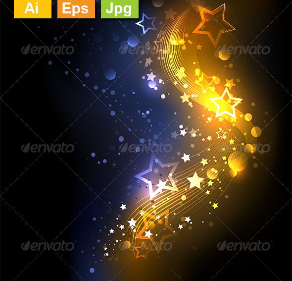 GraphicRiver Glowing Background 8259667