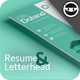 Rohman Resume & Letterhead - GraphicRiver Item for Sale