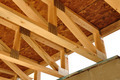 Trusses Above Basement - PhotoDune Item for Sale