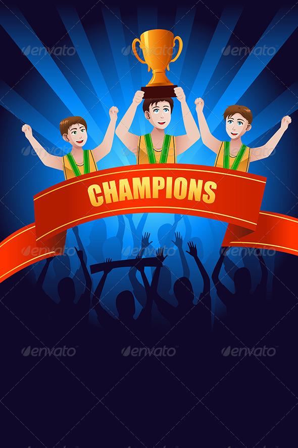GraphicRiver Champions Poster 8259739
