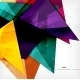 Modern 3D Glossy Overlapping Triangles - GraphicRiver Item for Sale
