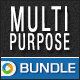 Multi Purpose Banner Sets Bundle - 3 Sets - GraphicRiver Item for Sale