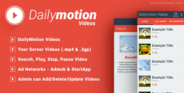 CodeCanyon Daily Motion 8239582