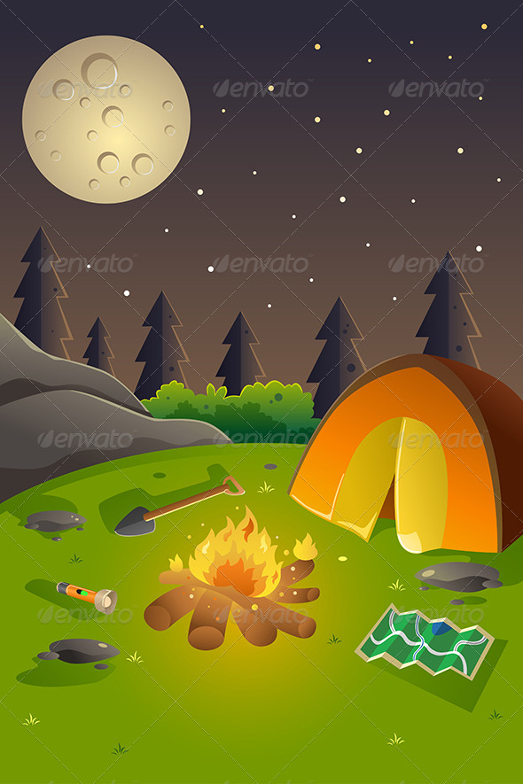 GraphicRiver Youth Summer Camp Poster 8263788