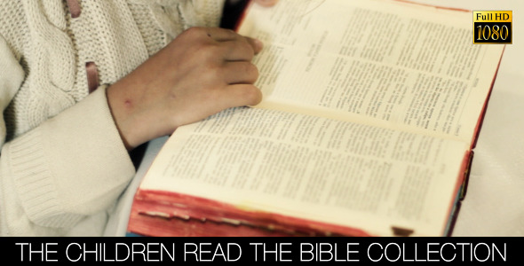 The Children Read The Bible Collection 8 pack