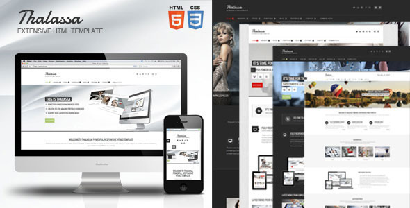 Thalassa Extensive HTML5 Template