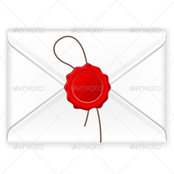 GraphicRiver Envelope Wax Stamp 8266270