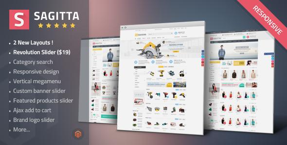Sagitta - Mega Store Responsive Magento Theme - Fashion Magento