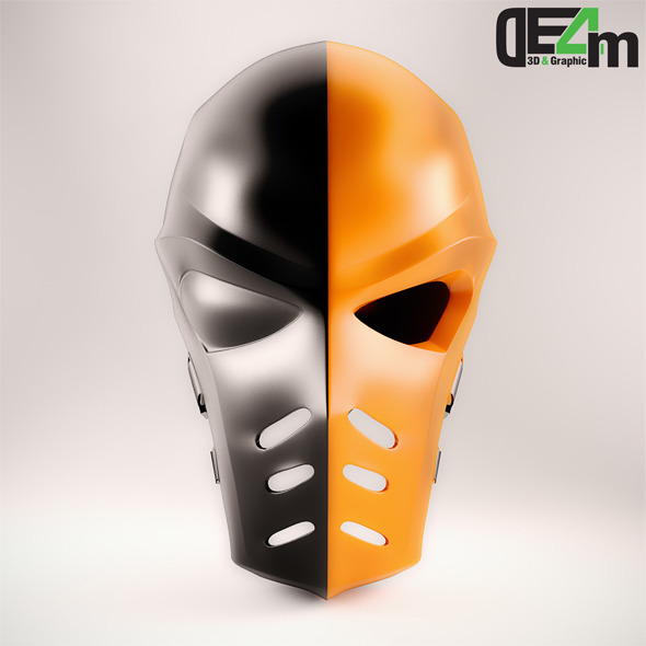 Deathstroke Helmet - 3DOcean Item for Sale