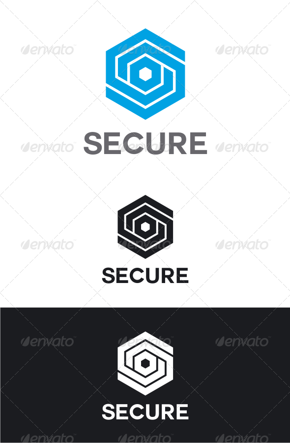GraphicRiver Secure Letter S Logo 8266698