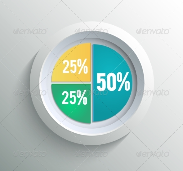 GraphicRiver Pie Chart 8266701