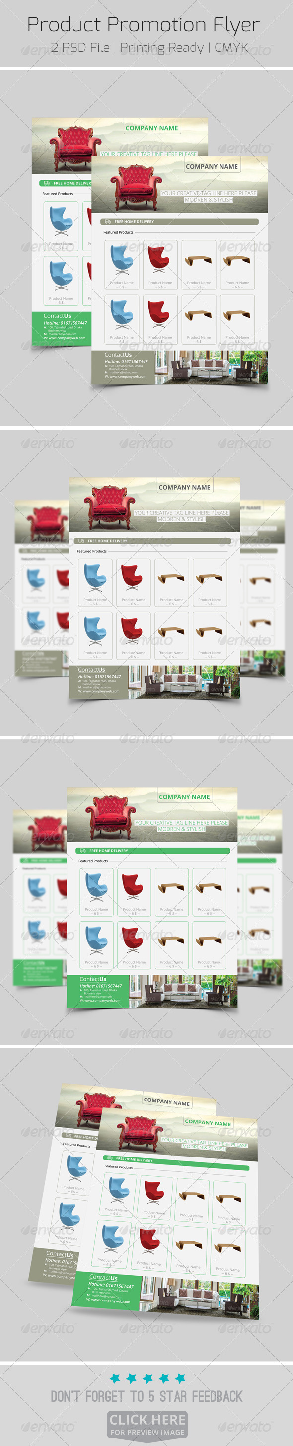 GraphicRiver Product Promotion Flyer 8266740