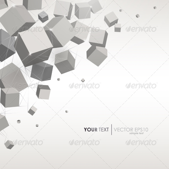 GraphicRiver Cube Background 8266766
