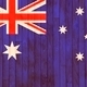 Australia flag wooden background. - PhotoDune Item for Sale