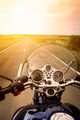 Motorcycle rider view - PhotoDune Item for Sale