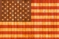 USA flag wooden background. - PhotoDune Item for Sale
