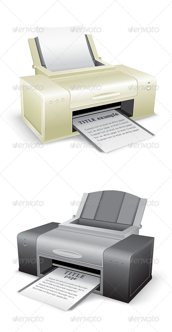 GraphicRiver The Printer 8267069