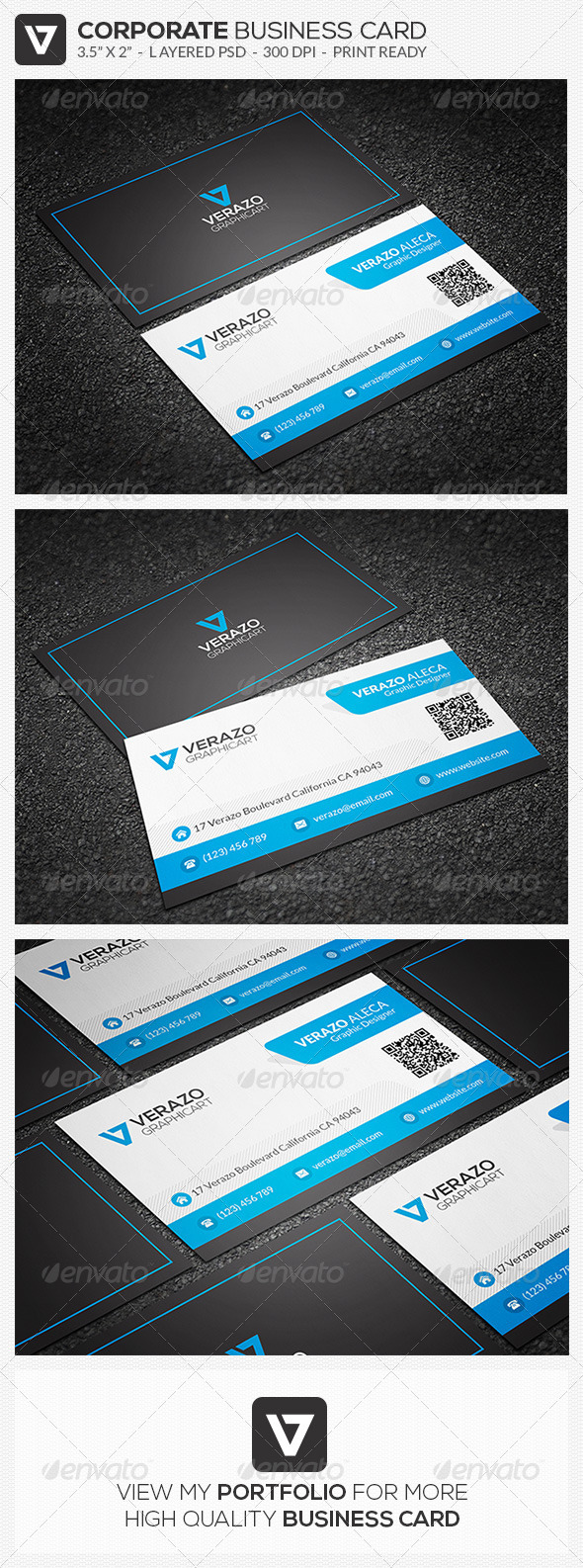GraphicRiver Clean Business Card 48 8268810