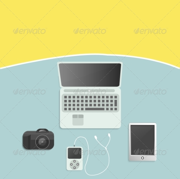 GraphicRiver Modern Digital Devices 8269287