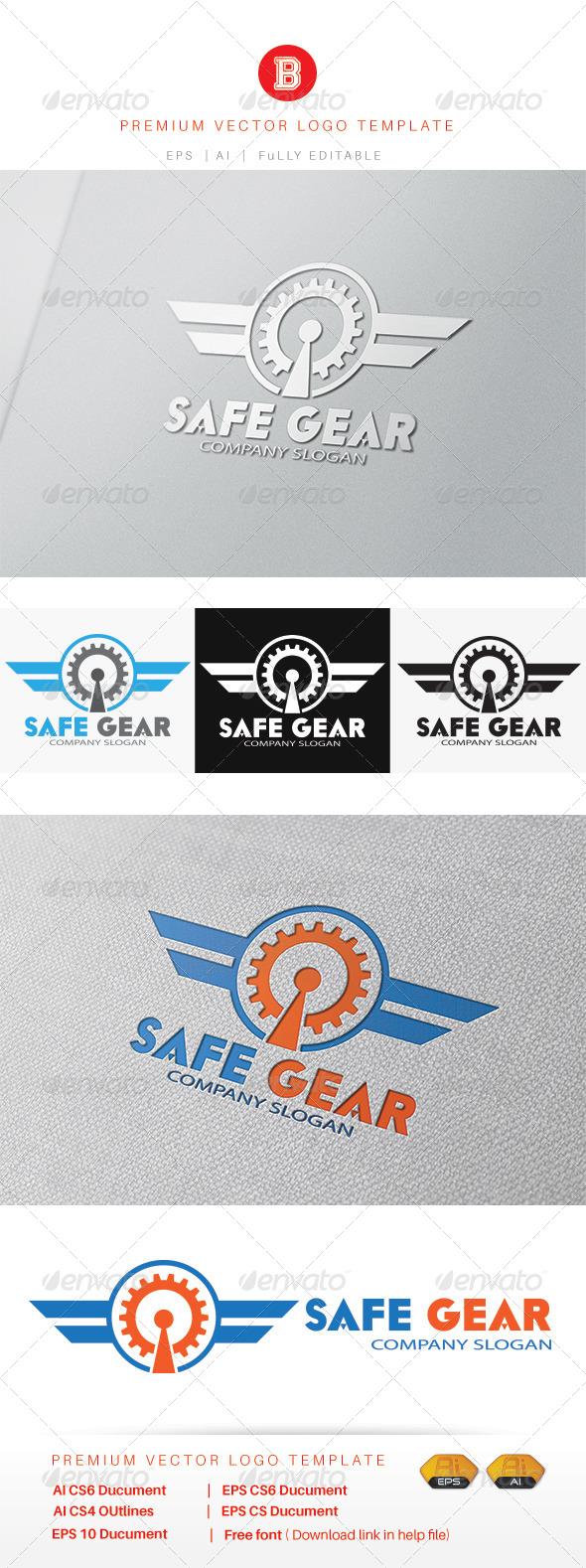GraphicRiver Safe Gear 8269454