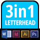 Letterhead 3inOne - GraphicRiver Item for Sale