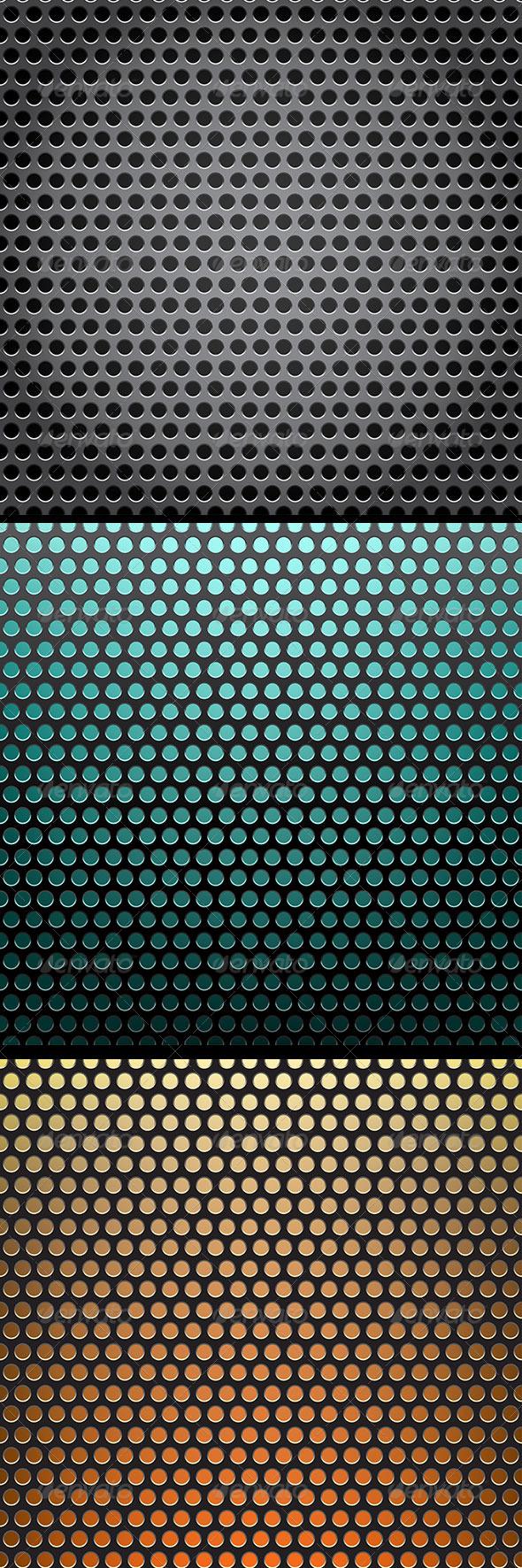 GraphicRiver Metal Grid Background 8269676