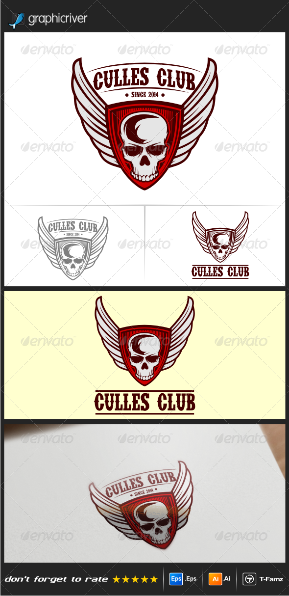 Motor Club Logo Templates