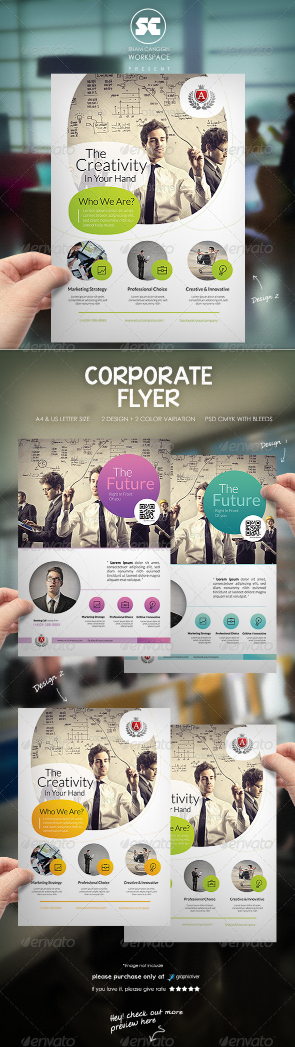 GraphicRiver Corporate Business Flyer 8269861