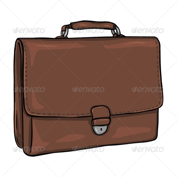 GraphicRiver Vector Cartoon Briefcase 8270232