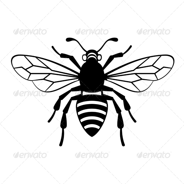 GraphicRiver Bee Icon Vector 8271825