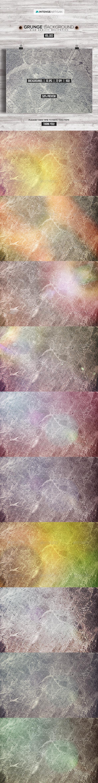 GraphicRiver 10 Grunge Background Vol.3 8271995