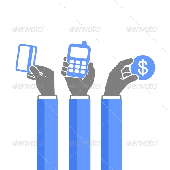 GraphicRiver Online Payment Methods Icons Set Vector 8272089