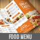 Food Menu Pack 1 - GraphicRiver Item for Sale