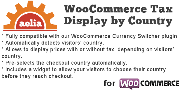 CodeCanyon Tax Display by Country for WooCommerce 8184759