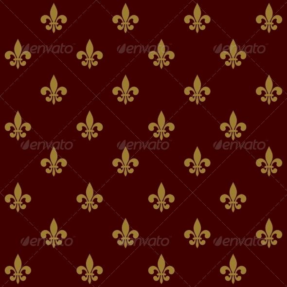GraphicRiver Fleur de Lis Background 8272270