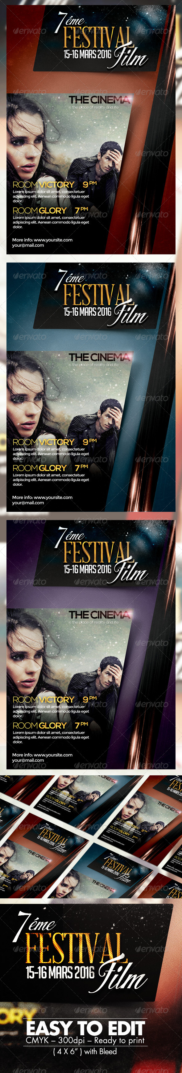 Festival Film Flyer Template