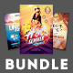 Summer Flyer Bundle Vol.07 - GraphicRiver Item for Sale