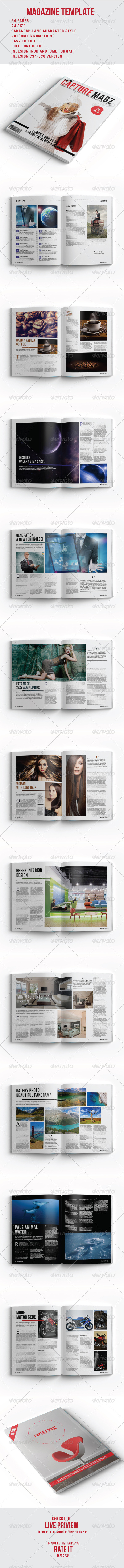 GraphicRiver capture Magz 8273648