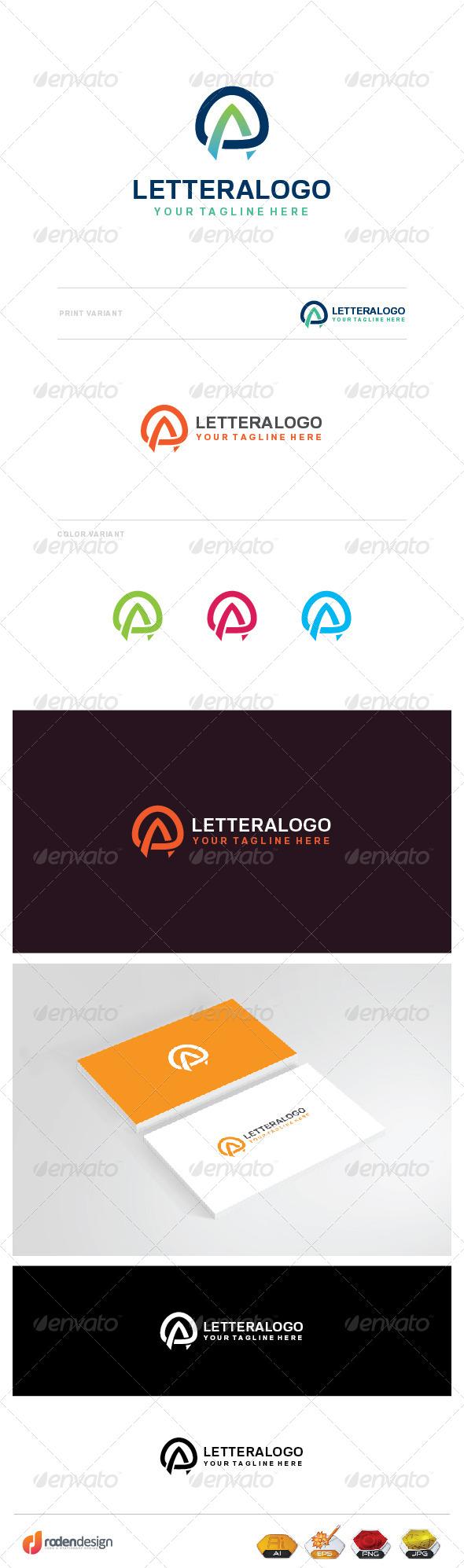 GraphicRiver A Letter Logo 8273876